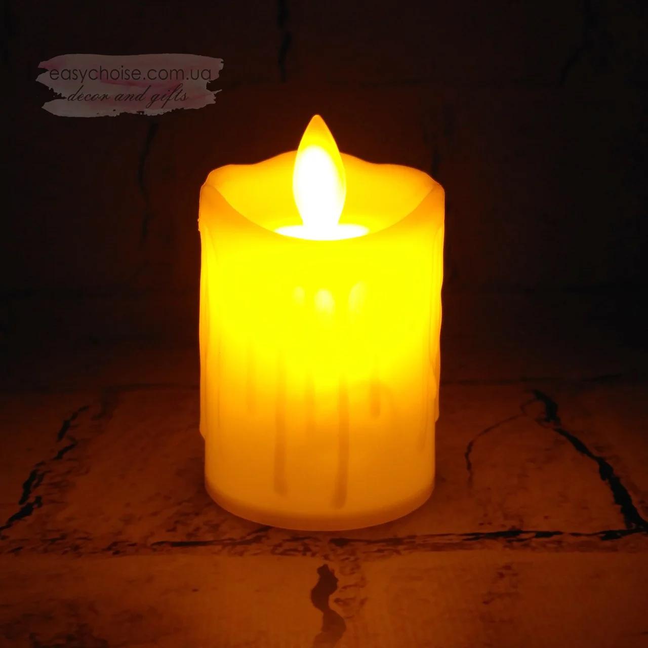 Свеча светодиодная средняя
