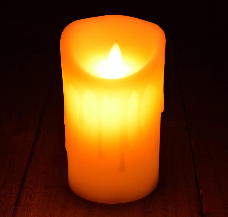 Свеча светодиодная большая