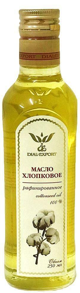 Масло хлопковое, 0,25 л, Dial-Export, dom