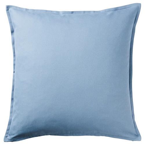 ГУРЛИ Чехол на подушку, голубой 50x50 см