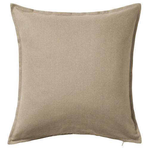 ГУРЛИ Чехол на подушку, бежевый 50x50 см