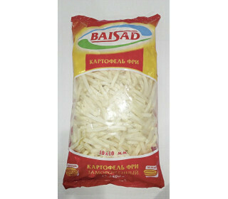 Картофель фри BAISAD замороженный, 2,5 кг