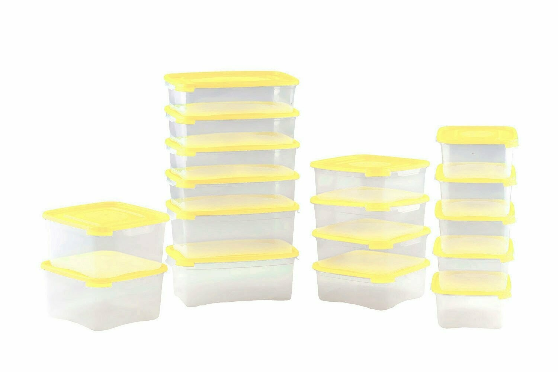 Набор контейнеров Каскад. 460 мл - 5 шт., 700 мл - 8 шт., 1 л - 4 шт.