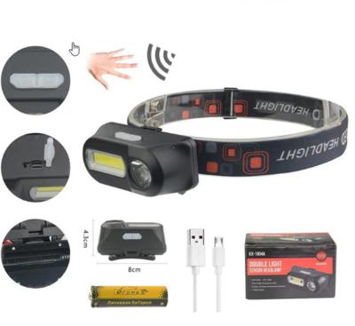 Налобный акумуляторный фонарь HT-821