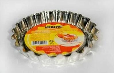Форма для кекса мал ФБ-1 d140*25мм