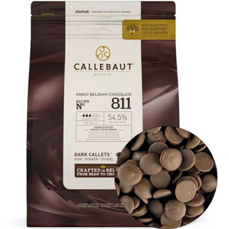 Шоколад темный в дисках 54,5%, CALLEBAUT, Бельгия 2,5 кг
