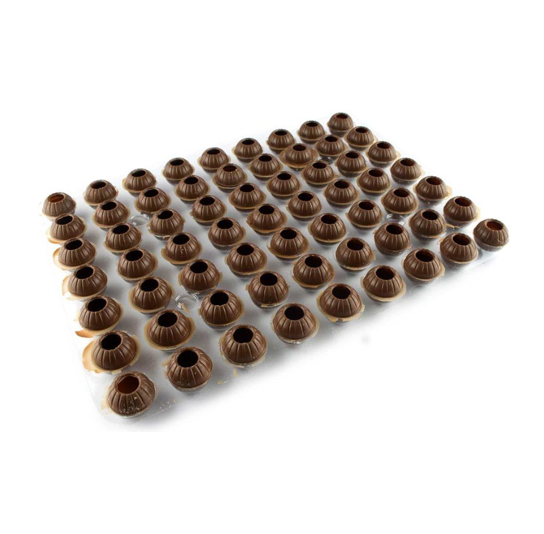Капсулы для трюфелей, молочный шоколад, CALLEBAUT, Бельгия, 63 шт