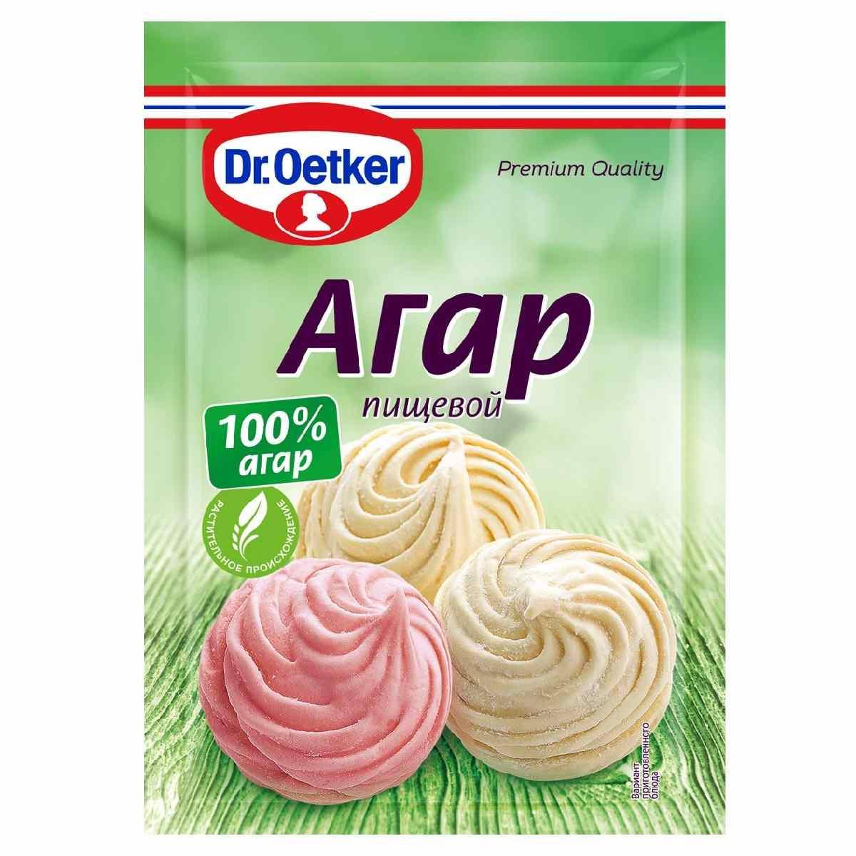 Агар пищевой Dr.Oetker, 7 г