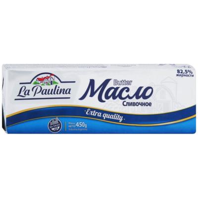 Масло сливочное 82,5% La Paulina, 450 г