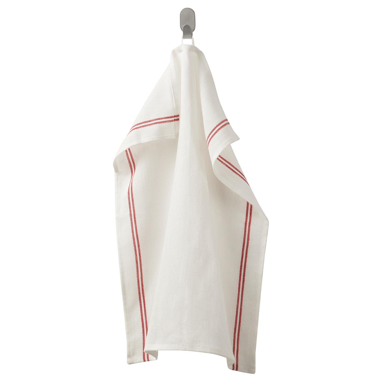 ХИЛЬДЕГУН Полотенце кухонное, красный45x60 см