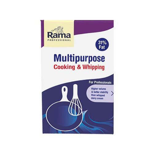 Растительные сливки Rama Professional, для взбивания, 31%, 1 л