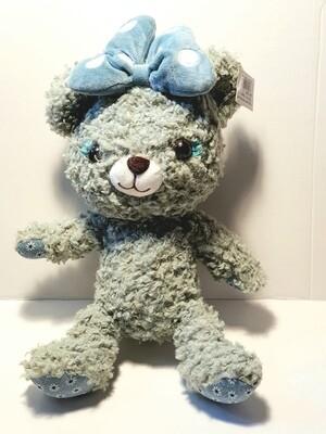 Мягкая игрушка, Мишка с бантиком  30 см