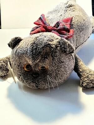 Мягкая игрушка, Котик леж. 45 см