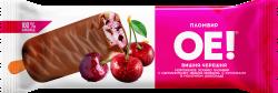 """Эскимо """"ОЕ!"""" пломбир вишня-черешня в шоколаде, 0,066, СибХолод"""
