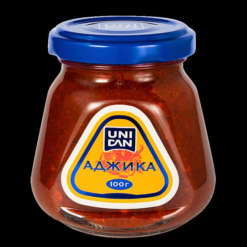 Горчица Зернистая UNI DAN, 100 г