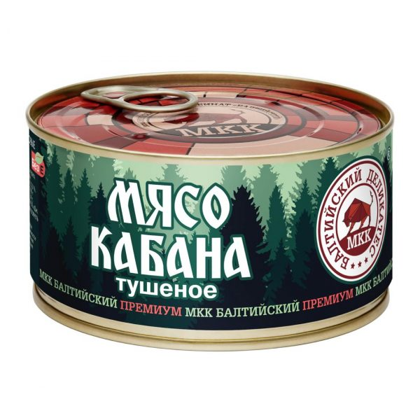 Мясо кабана, Балтийский деликатес, 325 г