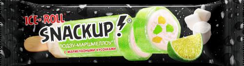 Мороженое Snackup, Юдзу-маршмеллоу в жеват.глазури, СЗМЖ, эскимо, 55 г