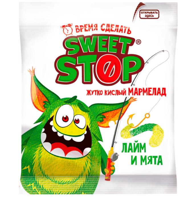 Мармелад Sweet Stop арбуз дыня, 70 г
