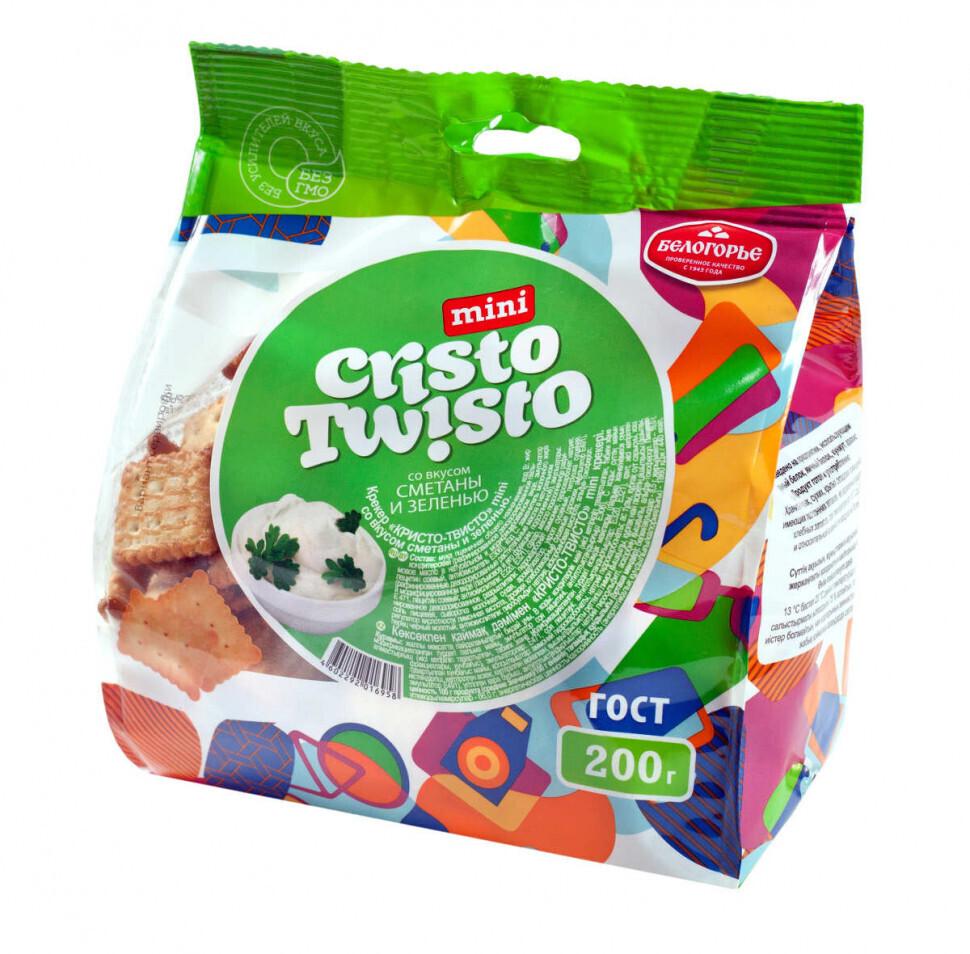 Крекер-мини Кристо-твисто, в асс. 200 г