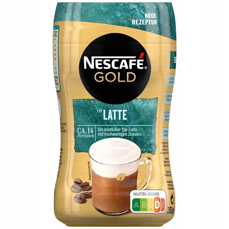 Кофе Nescafe Gold Latte, 225 г