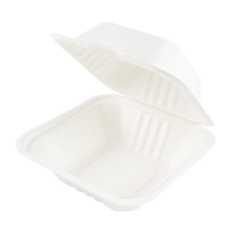 Кондитерская упаковка для бенто торта 15*15*8 из сахарного тростника