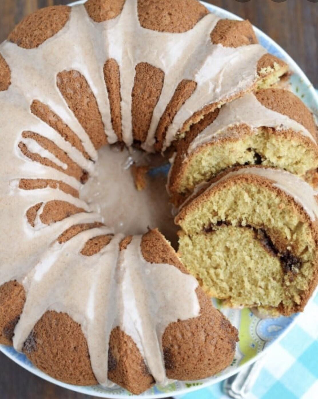 Honeybun Pound Cake