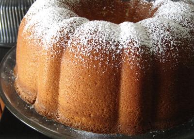 Plain Sour Cream Pound Cake