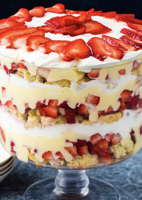 Strawberry Shortcake Trays