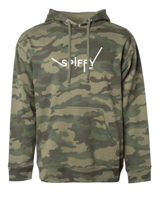 Camo Essential Hoodie (Green)