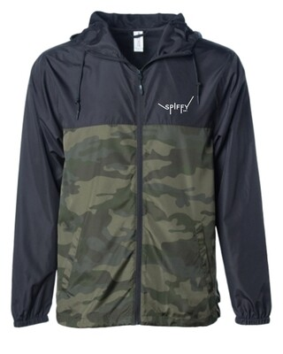 Windbreaker Label (Black/Camo)