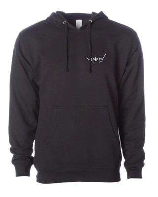 The Label Hoodie (Black)