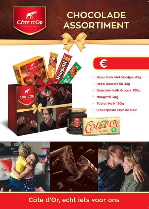 Côte D'or chocoladepakket