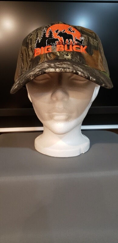 CASQUETTE BIG BUCK MOSSY OAK FITTED MESH LOGO VINTAGE