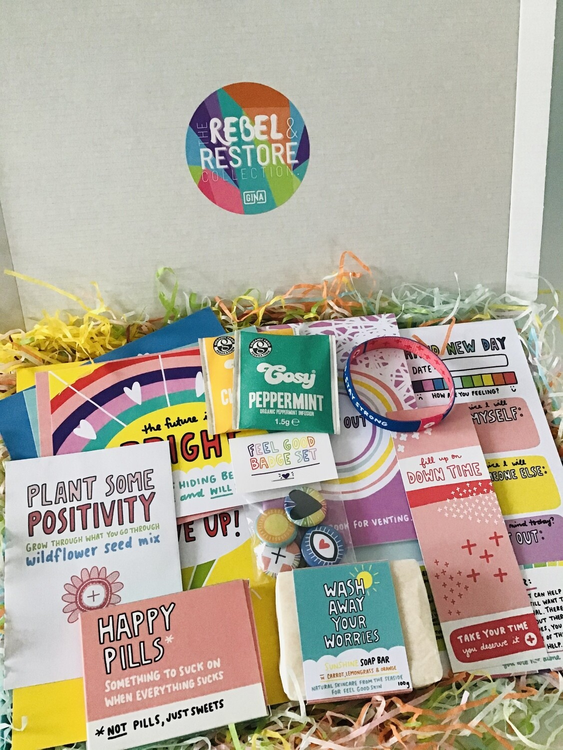 The Rebel & Restore Collection: Feel Good First Aid Kit