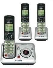 VTECH CS6229-3  (Teléfono inalámbrico con 2 extensiones)