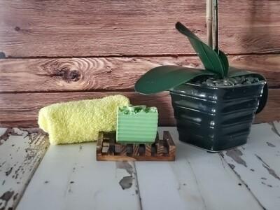 Sweet Pea Floral Mini Soap Bars