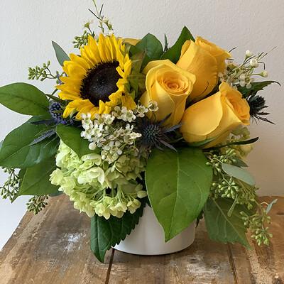 Petite Sunflower Arrangement