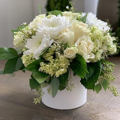 Large White Flower Arrangement