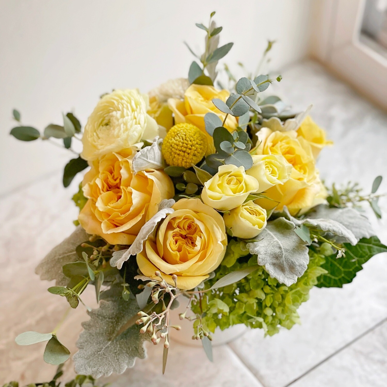 Yellow and Gray (Petite)