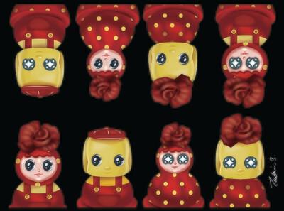 Happy Together #06 - Fueki X Rose Tumbler Series
