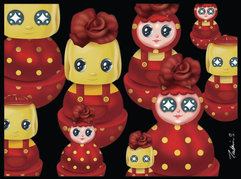 Happy Together #03 - Fueki X Rose Tumbler Series