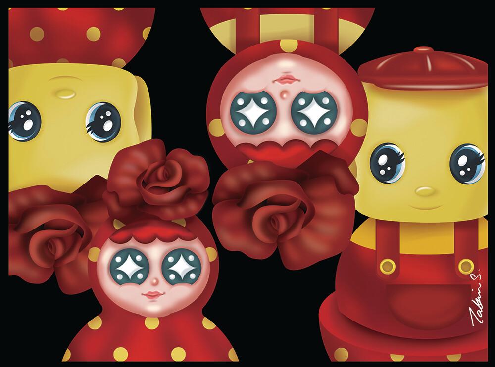Happy Together #04 - Fueki X Rose Tumbler Series