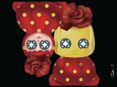 Happy Together #05 - Fueki X Rose Tumbler Series