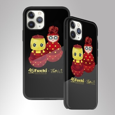 Stylish iphone case  (black) for iphone 11/11 pro (iphone 光面黑色膠機殼) - A款