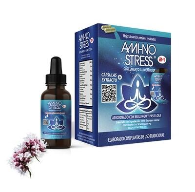 AMI-NO-STRESS 2 en 1 (Al ser 2 en 1 incluye Cápsulas y Extracto)