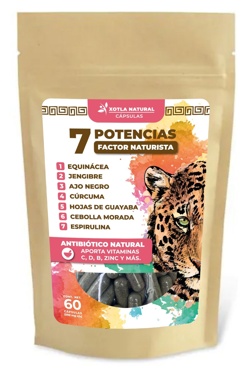 7 POTENCIAS - FACTOR NATURISTA