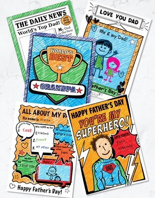 Father's Day Fun - Printable (5 Pack)