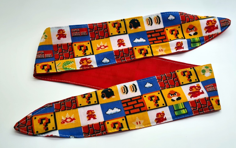 Mario Adult Tie up headbands