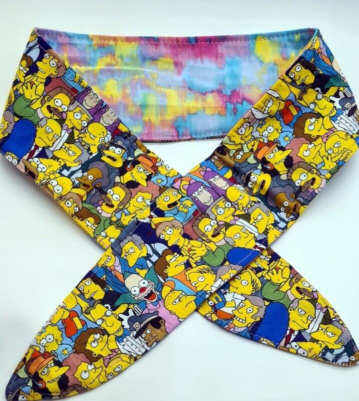 Simpson Adult Tie up headbands