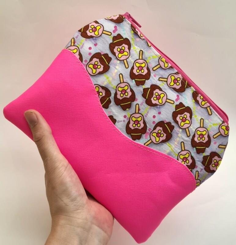 BOB Mini glitter vinyl wallet